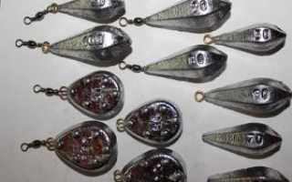 Скользящее грузило на поплавочной удочке, набор и оснастка удочки грузилами