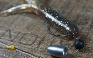 Техасская оснастка для ловли без зацепов щуки, судака, окуня
