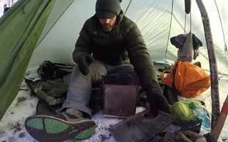 Печка в палатку для зимней рыбалки для обогрева: как сделать своими руками, виды моделей на газу, на дровах, мини, парафиновые и иные