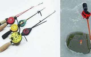 Как называется удочка для зимней рыбалки