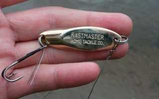 Кастмастер блесна: секреты ловли и изготовление своими руками