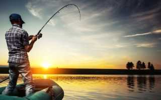 Как выбрать снасти для рыбалки с лодки