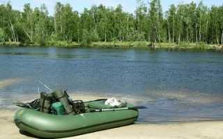 Ловля щуки с лодки на спиннинг: посреди водоема