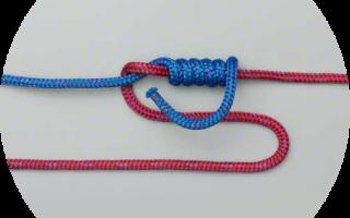 Как привязать карабин к плетенке для спиннинга