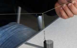 Как вязать патерностер гарднера для фидера
