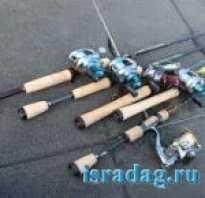 Спиннинг для лодочного джига