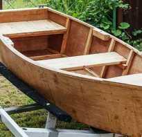 Лодка из фанеры для рыбалки своими руками