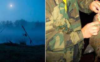 Ловля ночью на донки Ночная ловля сома язя леща на донки Снасти Снаряжение для ночной рыбалки
