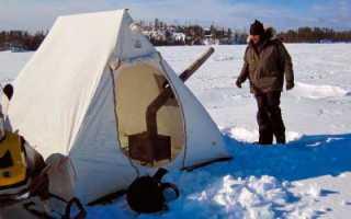 Зимняя палатка своими руками — Самоделки для рыбалки своими руками
