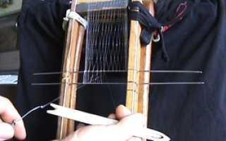 Как связать для ловли, схема изготовления своими руками