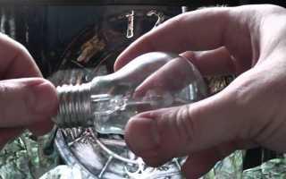 Как сделать барометр для рыбалки своими руками из лампочки