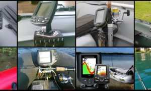 Эхолот для резиновой лодки и ПВХ с мотором выбор для рыбалки