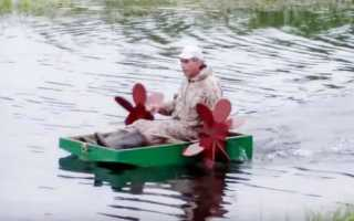 Сидячая лодка для рыбалки
