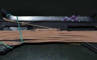 Ловля рыбы на резинку — как сделать резинку, особенности изготовления своими руками