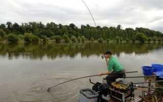 Матчевая оснастка — удилище, катушка, леска и поплавок для матча, техника ловли