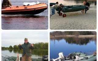 Как выбрать резиновую лодку для спиннинговой ловли