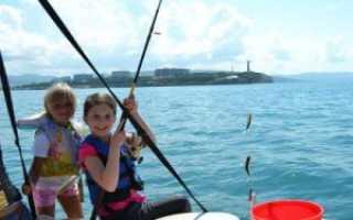 Море зовет: рыбалка в Геленджике