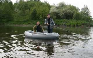 Надувные двухместные лодки для рыбалки