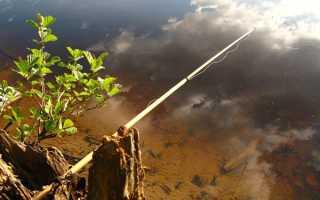 Как привязать леску к удилищу без коннектора